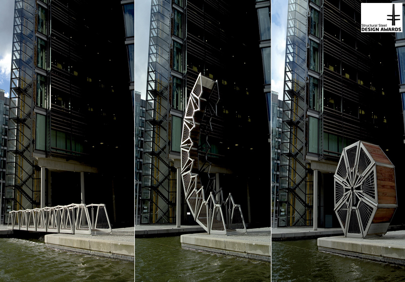 Rolling Bridge Timelapse