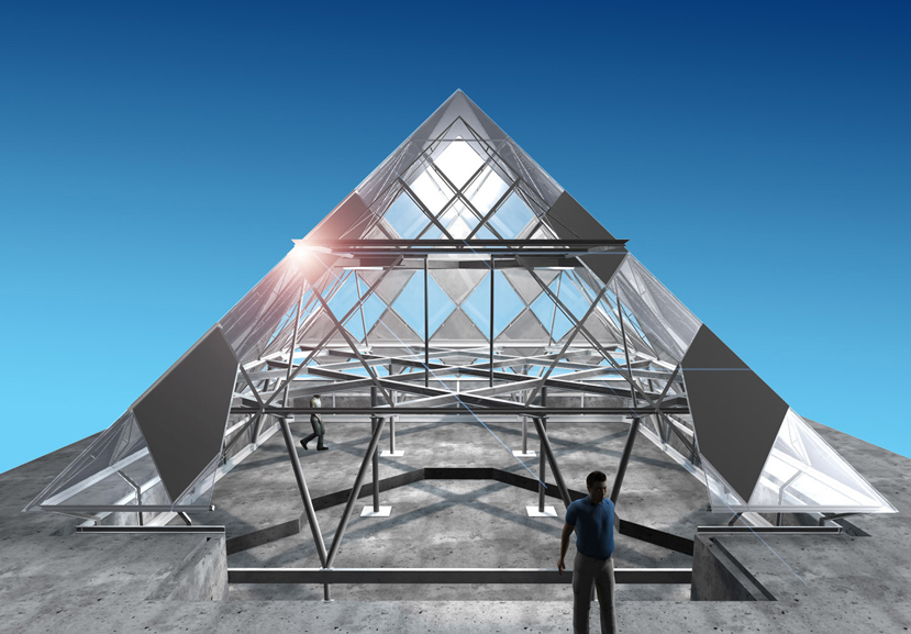 The Pyramid design