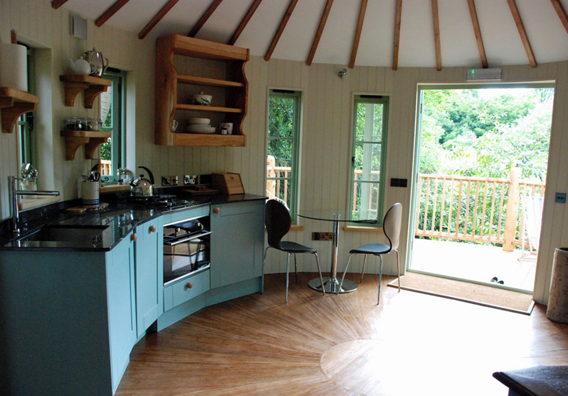 Facit Tree House Finished Kitchen