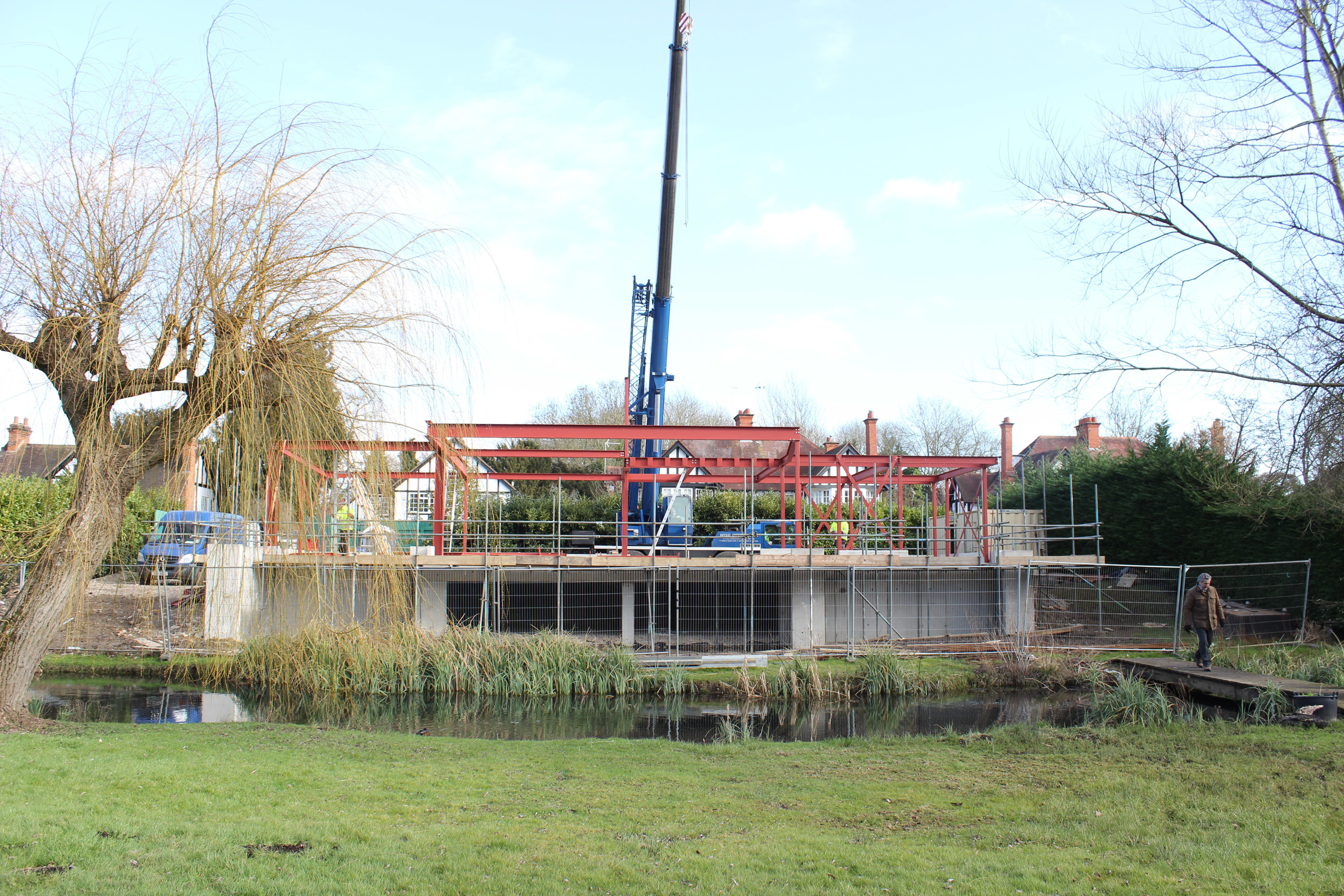 Water Meadow under construction