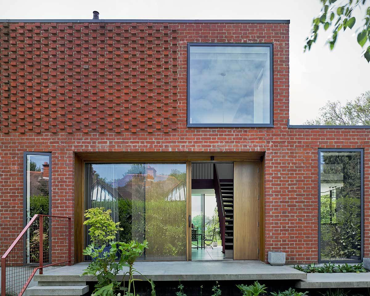 Water Meadow red brick exterior